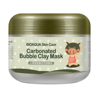 Маска BIOAQUA Carbonated Bubble Clay Mask