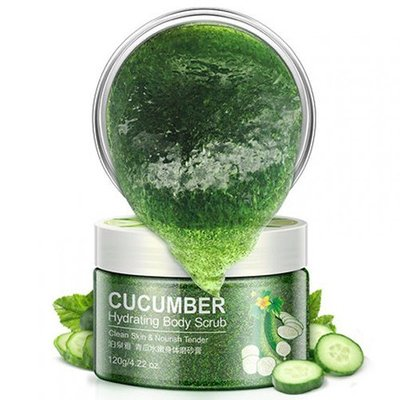 Cкраб для тела Bioaqua Cucumber Hydrating Body Scrub